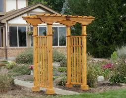 knowing wood arbor gate plans