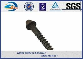 Post Anchor Screw Anchor Fence Spike Track Spike Railway Fasteners Sgs Iso9001