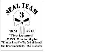 Decal Legend Chris Kyle By Adsforyou On Etsy 17 50