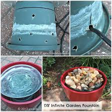 diy garden fountain diy projects