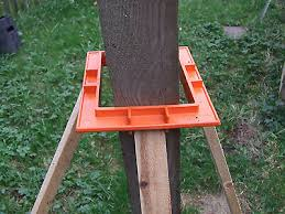 3 X Fencing Collars Postlevel For Concrete Or Wood Fence Post Erecting Help Eur 11 13 Picclick It