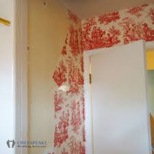 wallpaper removal chesapeake painting