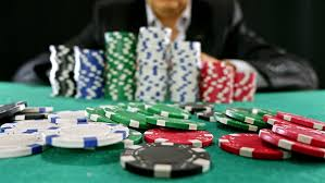 A Gambler at a Poker Stock Footage Video (100% Royalty-free ...