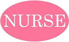 Amazon Com Rogue River Tactical Nurse Pink Sticker Bumper Sticker Oval 5 X 3 Car Decal Nursing Gift Cna Er Registered Nurse 1 Automotive