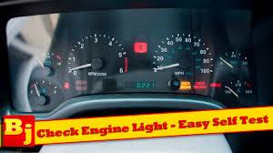 check engine light easy self