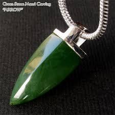 the nature stone green stone silver