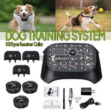Usb Electric Wireless Dog Pet Fence Containment System W 1 2 3 Receiver Collar Shopee Philippines