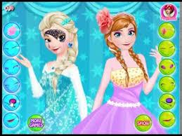 elsa vs anna make up frozen