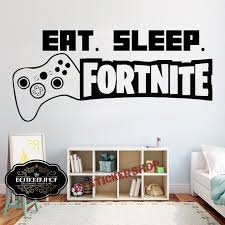 Gamer Wall Decal Eat Sleep Game Wall Decal Controller Video Etsy