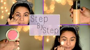 steps of applying makeup how to apply