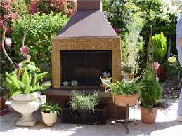 prefab outdoor fireplaces landscaping