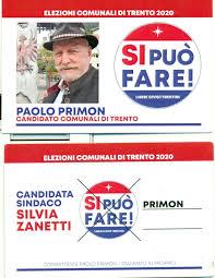 Come votare il 20-21 settembre - Elezioni comunali Trento 2020 | Popoli  Liberi - Freie Völker