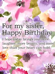 Happy Birthday Sister Messages With Images Birthday Wishes And Messages By Davia