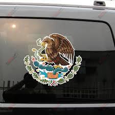 Coat Of Arms Of Mexico Mexican Eagle Decal Sticker Car Vinyl Reflective Glossy Kupiti Za Cinoyu 3 50 V Aliexpress Com Imall Com