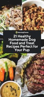 21 healthy homemade dog food and treat