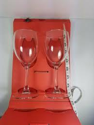 riedel accanto rose wine glasses set
