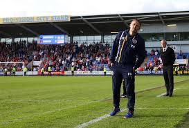 Paul Hurst Head Coach Manager Shrewsbury Town Football Club ...