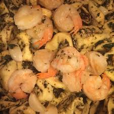 Garlic Shrimp with Three Cheese ...