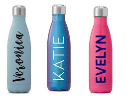 Name Decals For Water Bottles Custom Name Decal Tumbler Etsy