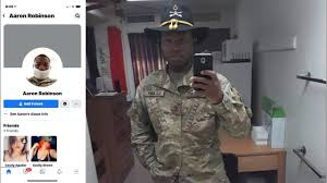 Reporters vs. Fort Hood: Aaron David Robinson name, not photo ...