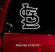Mlb St Louis Cardinals Baseball Auto Window Sticker Decal For Car Truc Buy Fan Gear