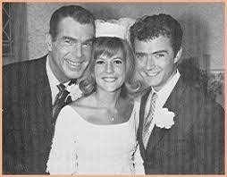 Oldest 'son' on My Three Sons, Tim Considine, who played Mike marries (on  TV) Meredith MacRae with proud papa, Fred M… | My three sons, Wedding  movies, Old tv shows