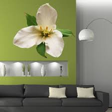 Shop Full Color Lily Flower Beauty Spa Full Color Wall Decal Sticker Sticker Decal Size 22x22 Frst On Sale Overstock 15027309