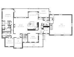 2500 sq ft bungalow house plan 1099