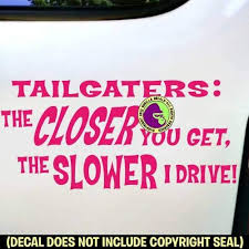 Tailgating Funny Sticker Vinyl Decal Adhesive Car Window Bumper Tailgate White Archives Midweek Com