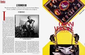 LE BERNIER CRI | Vanity Fair | November 1991