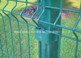 Nice Appearance Wire Mesh Garden Fence Green Metal Mesh Fencing Panel Roll