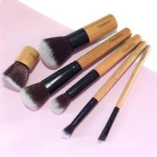 everyday vegan makeup brush set