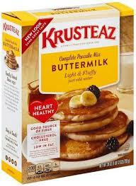 krusteaz plete ermilk pancake