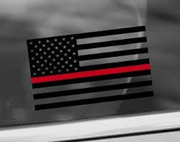 Thin Red Line Nurse Rn Cna Lpn Cns Np Distressed American Flag Window Decal Sticker Gift Stickers