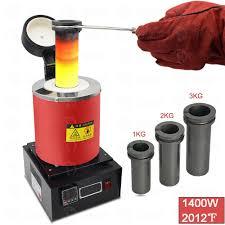 3kg 2kg 1kg electric melting furnace