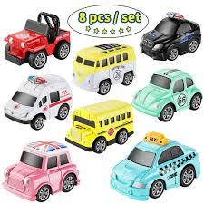 8 Cái/bộ Nhỏ Xe Ô Tô Đồ Chơi Mô Hình Diecast Kéo Lưng Xe Hợp Kim Mini Bộ  Máy Bộ Cho Bé Trai Cho Bé ít Oyuncak Araba|mini car toys