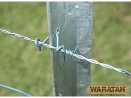 Waratah Star Post Clips Pk 300 Fence Post Clips Rural Fencing Irrigation Supplies Perth