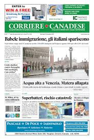 Corriere Canadese (13 novembre 2019) Pages 1 - 16 - Text Version ...