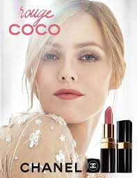 lady s chanel lipstick adver