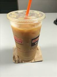 dunkin donuts iced coffee with cream