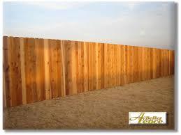 5 8 X 6 Solid Board Western Red Cedar Privacy Fence