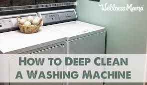 how to deep clean a washing machine