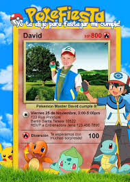 Pokemon Digital Invitacion Para Cumpleanos Pokemon Birthday