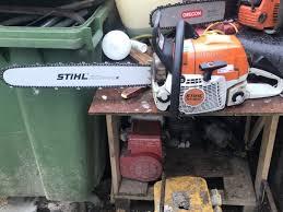 stihl chainsaw all ads in garden