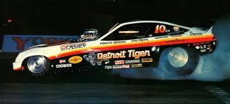 Slixx 1677 Detroit Tiger Monza Funny Car Slixx Drag Racing Decals