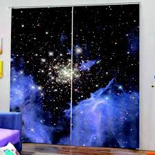 Creative Waterproof Blackout Curtains For Kids Room Living Room Color 7 Wish