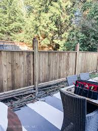 How To Replace Lattice On A Prefab Fence Panel So Much Better With Age