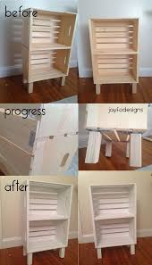 30 diy wood crate projects with lots