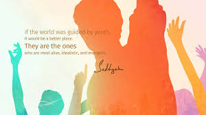 sadhguru quotes on national youth day isha sadhguru