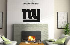 Amazon Com Increation Company Ncaa New York Ny Giants Logo Wall Decal Vinyl Sticker Mural Graphics Home Decor Nfl Fan Room Customization Home Kitchen